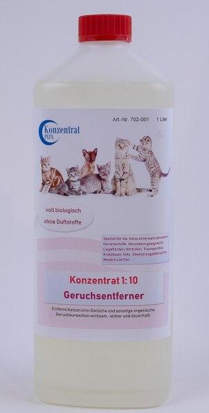 Geruchsentferner Katze Konzentrat (ohne Duftstoffe)