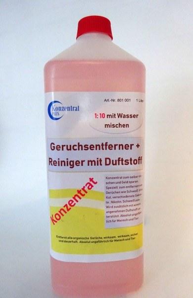 Geruchsentferner Konzentrat mit Duftstoff