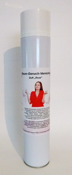 Geruchsentferner Spray 750 ml mit Turbo Düse