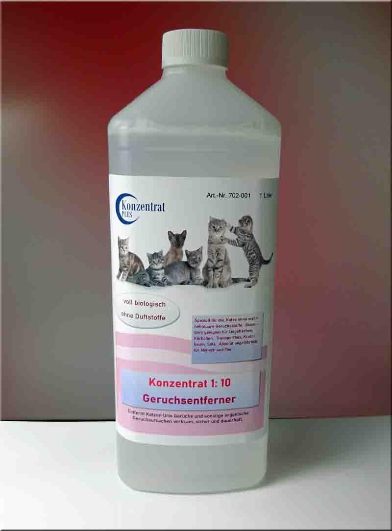 zum Produkt Konzentrat Katzenurin entfernen