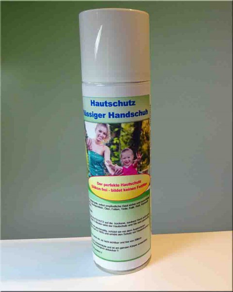 Hauschutz Pflege Schaum flüssiger Handschuh
