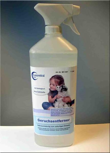 Geruchsentferner - Hunde Urin entfernen - Geruchsentferner von KonzentratPLUS