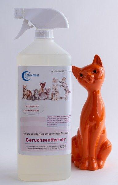 Geruchsentferner Katze