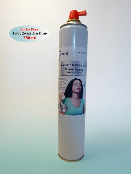 Geruchsvernichter Raum Spray Minze Menthol
